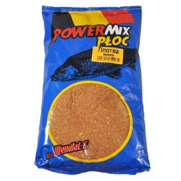 Прикормка Mondial-F Powermix Roach Vanilla 1 кг (Плотва ваниль)